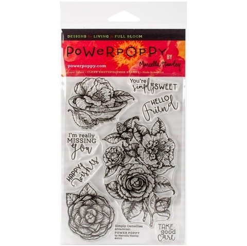 Sellos de Simply Camellias Clear Stamp Power Poppy   - comprar online