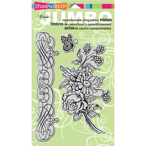 Sellos Flores Jumbo Spring Bouquet Stampendous  - comprar online