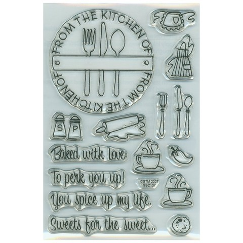 Sellos de Cocina From the Kitchen Stampendous   - comprar online