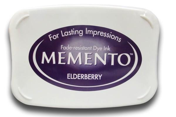 Almohadilla de tinta memento tsukineko color elderberry for Ver memento online