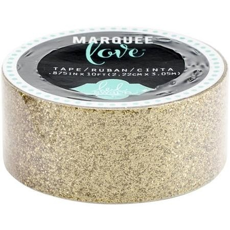 Cinta Decorativa Washi Tape Gold Glitter - comprar online