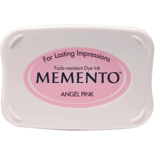 Almohadilla de tinta memento tsukineko color angel pink for Ver memento online