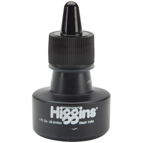 TINTA NEGRA BLACK INDIA INK HIGGINS - comprar online