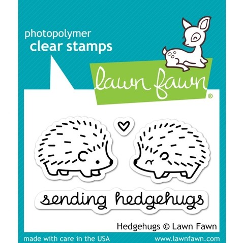 Sellos Puercoespín Clear Stamp Lawn Fawn