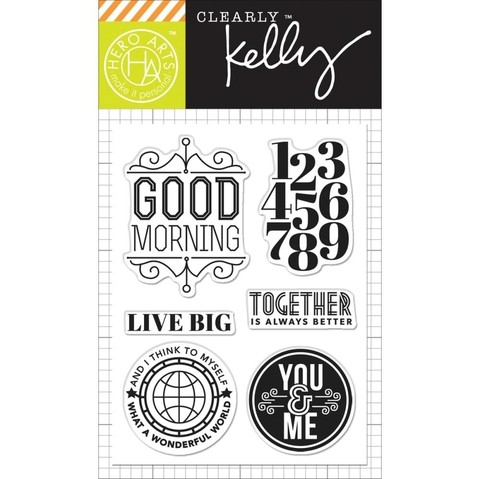 Sellos Live Big Clear Stamps Hero Arts - comprar online