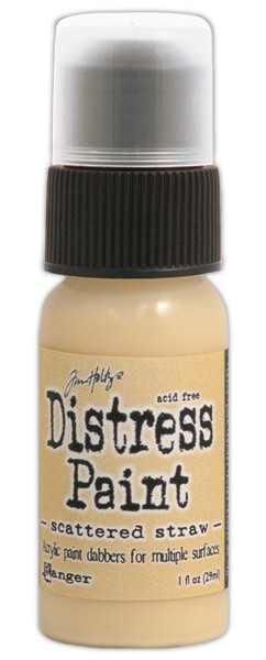 Pintura Acrílica con aplicador Distress Paint Color Scattered Straw - comprar online