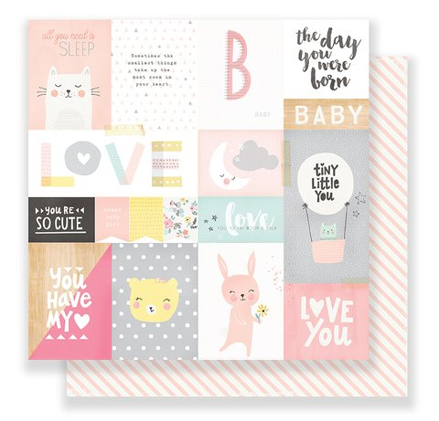 Papel bi-faz Little You - My Sunshine 30,5 x 30,5 cm de 180 gr - comprar online