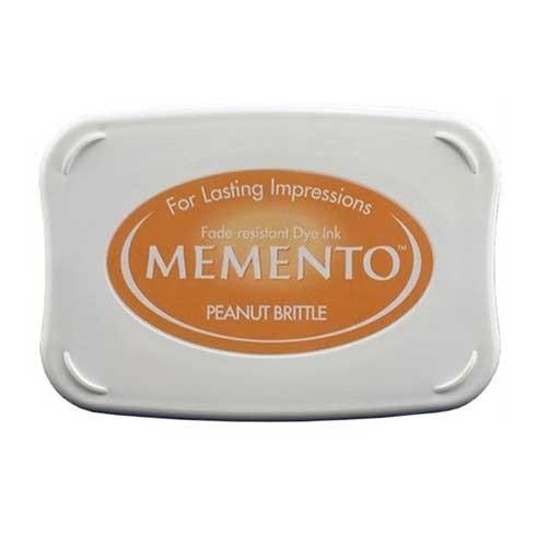 Almohadilla de tinta memento tsukineko color peanut brittle for Ver memento online