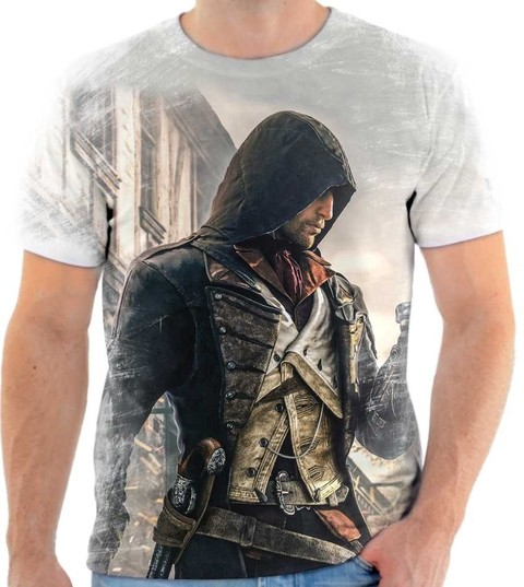 Camiseta Assassins Creed - 02 Back