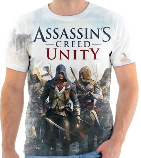 Camiseta Assassins Creed - 02 Front