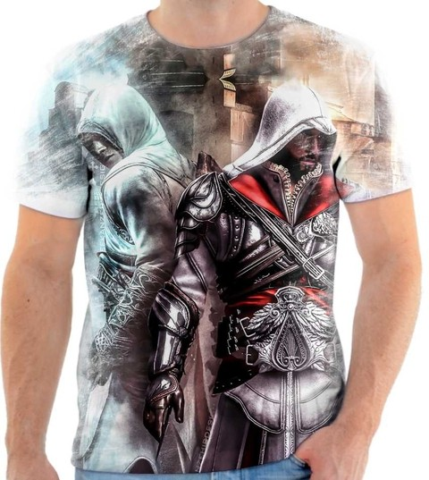 Camiseta Assassins Creed - 05 Back