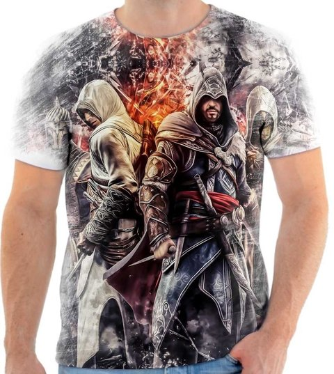Camiseta Assassins Creed 05 Front