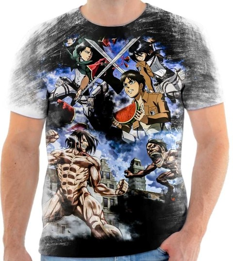 Camiseta Attack On Titan - 01