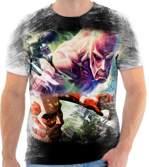 Camiseta Attack On Titan - 02