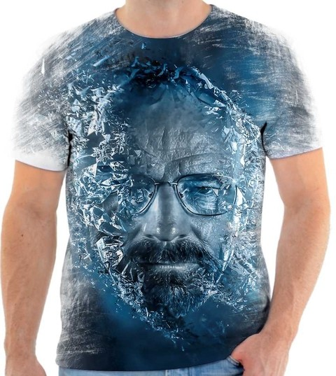 Camiseta Breaking Bad - Walter withe Cristal