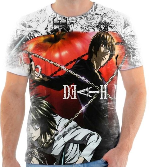 Camiseta Death Note - 01