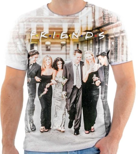Camiseta Friends - 03