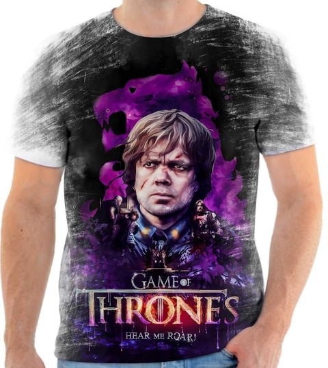 Camiseta Game of Thrones - Tyrion Lannister