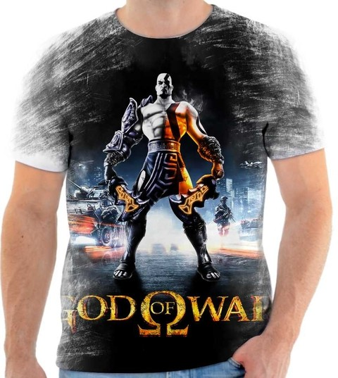 Camiseta God Of War  05