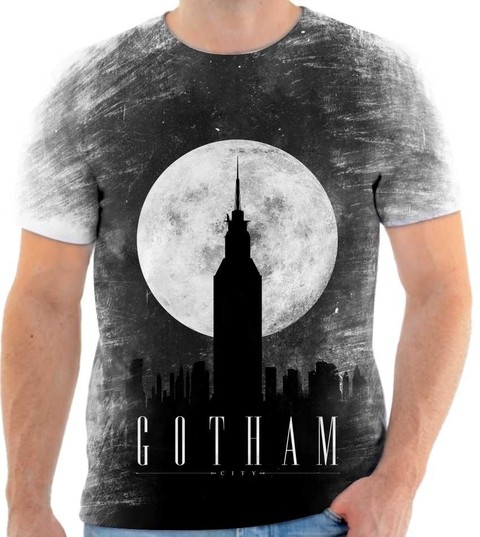 Camiseta Gotham - City