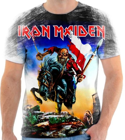 Camiseta Iron Maiden 01