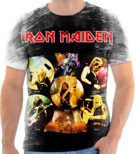 Camiseta Iron Maiden - 02