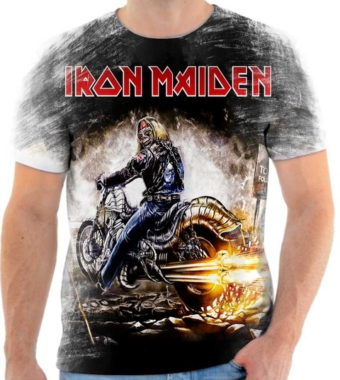 Camiseta Iron Maiden  04