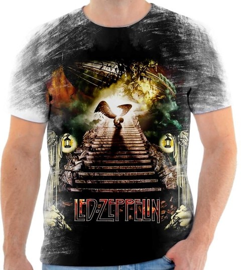 Camiseta Led Zeppelin 01