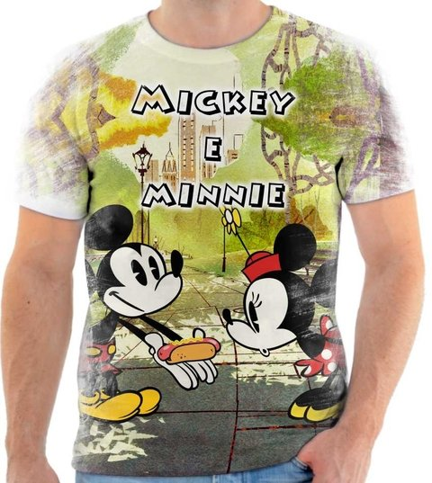 Camiseta Mickey & Minnie - 01