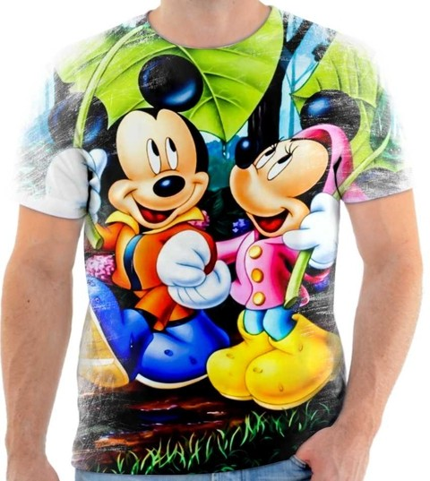 Camiseta Mickey & Minnie  02