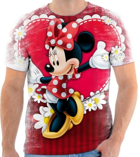 Camiseta Mickey & Minnie - 04
