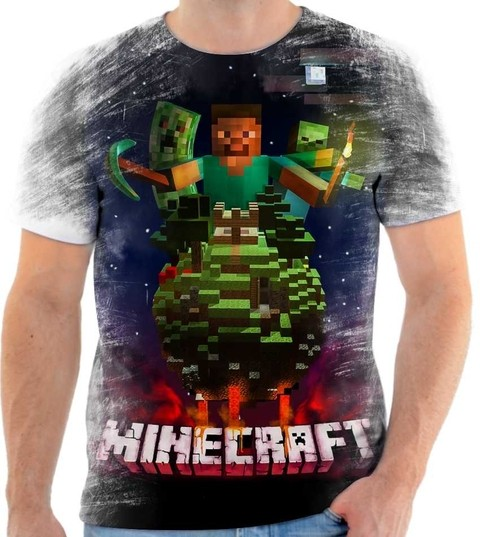 Camiseta Minecraft Rock - 05