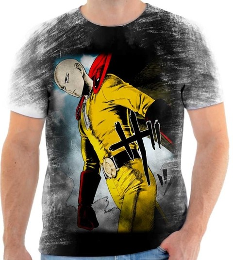 Camiseta One Punch Man - 04