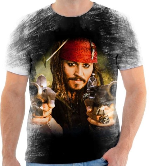 Camiseta Piratas do Caribe - 01