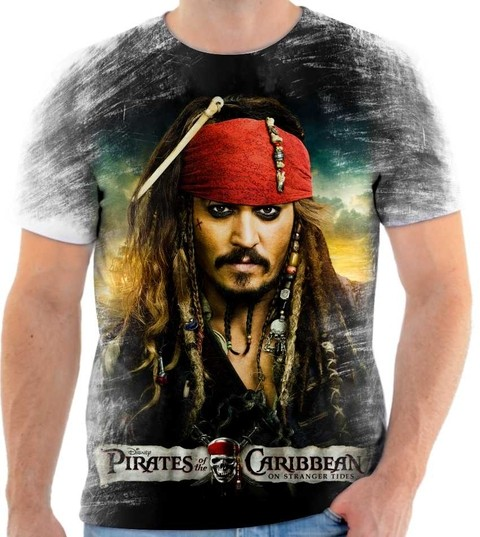 Camiseta Piratas do Caribe - 02