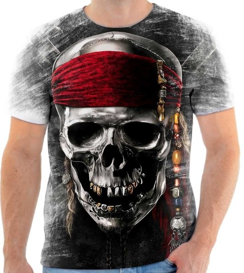 Camiseta Piratas do Caribe  03