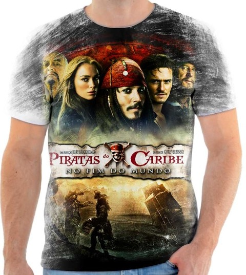 Camiseta Piratas do Caribe - 04