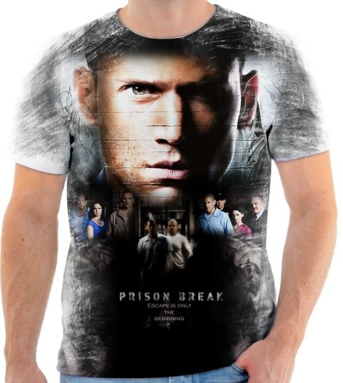 Camiseta Prison Break - 01
