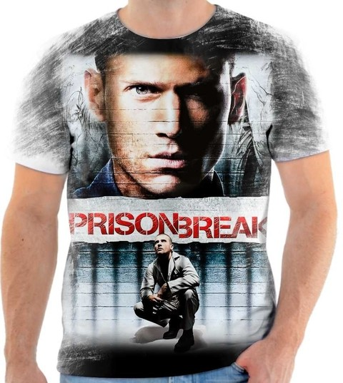 Camiseta Prison Break - 02