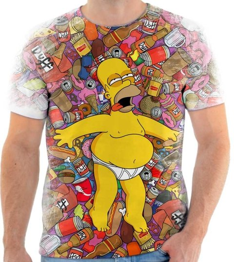 Camiseta Simpsons