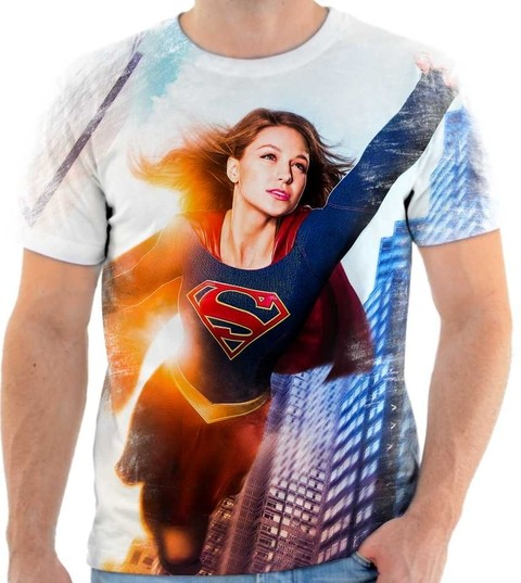 Camiseta Supergirl - 01