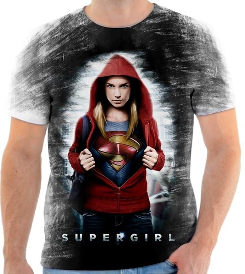 Camiseta Supergirl - 02