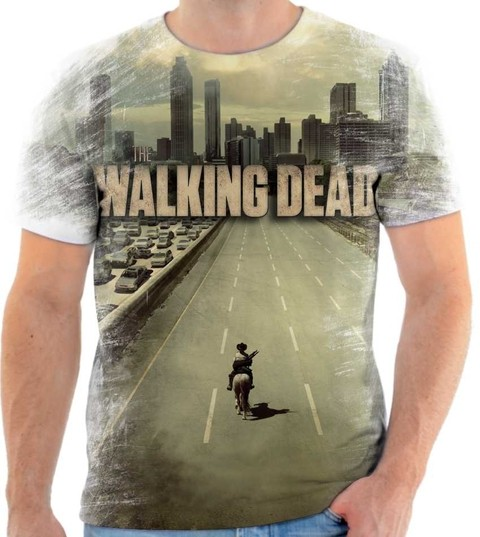 Camiseta The Walking Dead  01