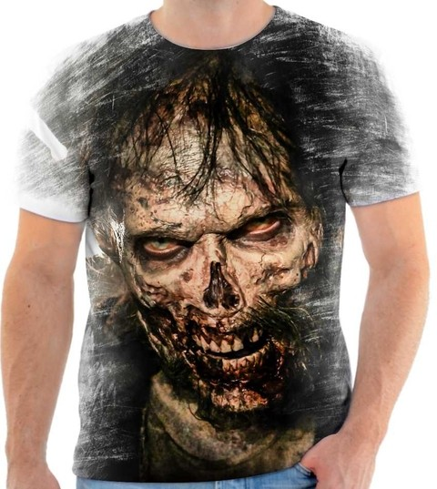 Camiseta The Walking Dead  - 02 Back