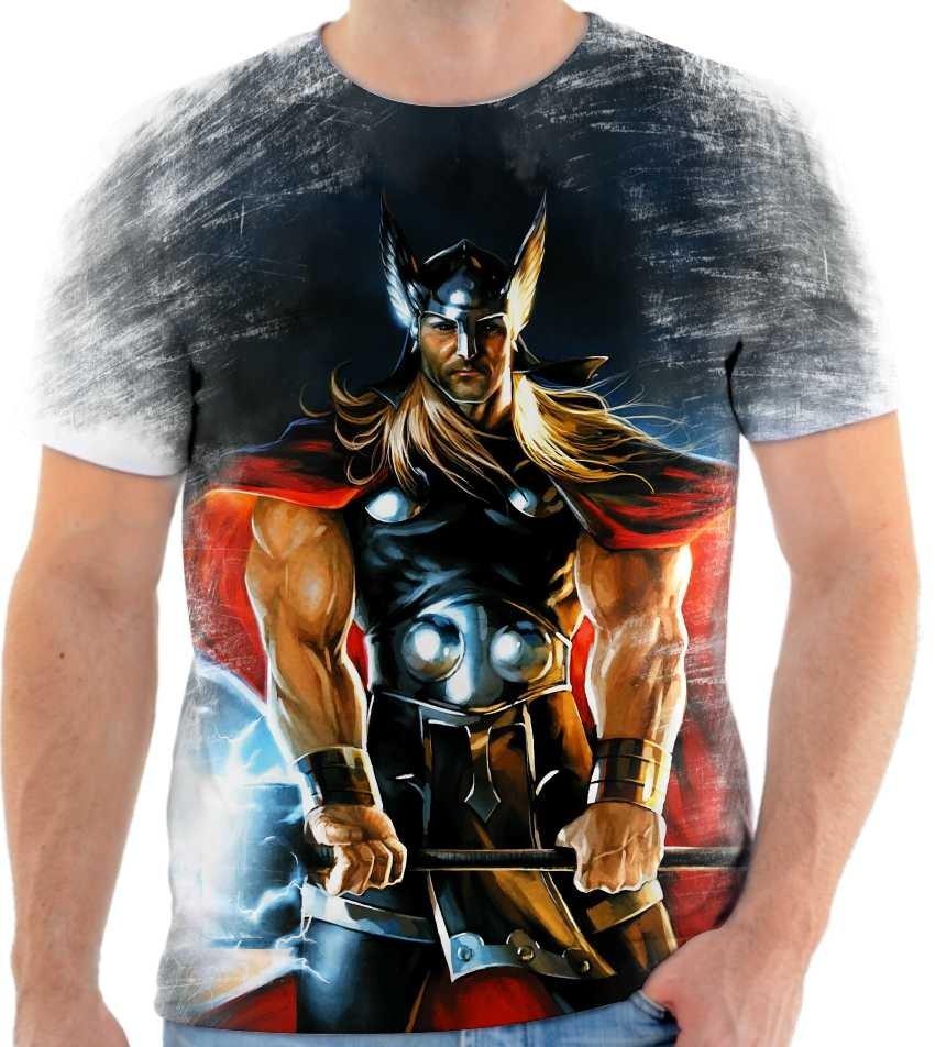 Camiseta Thor - Desenho