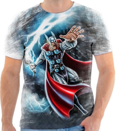 Camiseta Thor - Deus do Trovão