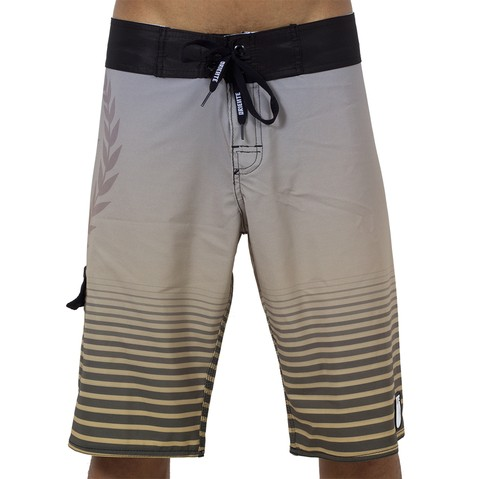 BoardShort Yellow Stripes