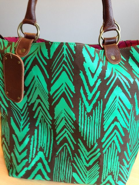 CANVAS  - Flechas Bag Verde