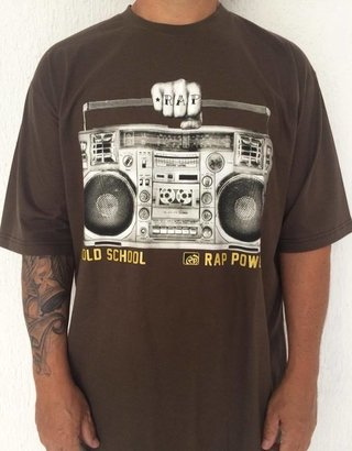 Camiseta Rap Power Old School