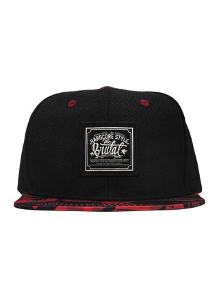 Snapback - Cammo Red